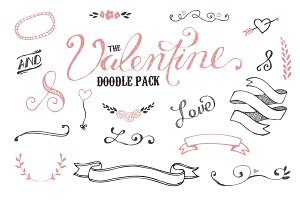 The Valentine Doodle Pack