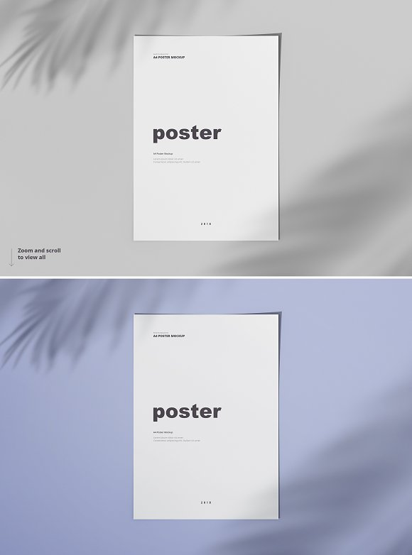 Poster / Flyer Mockups in Print Mockups - product preview 2