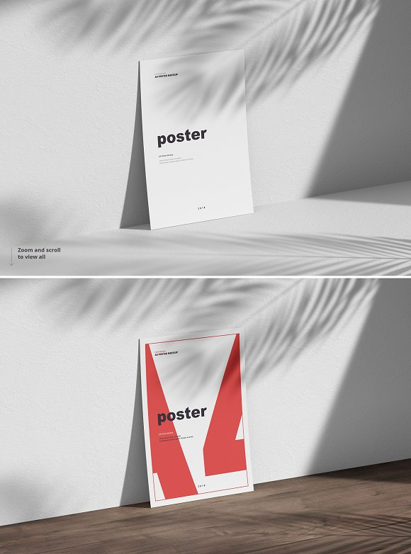 Poster / Flyer Mockups in Print Mockups - product preview 6