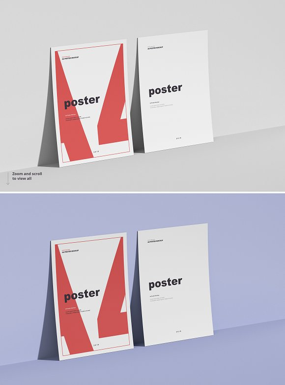 Poster / Flyer Mockups in Print Mockups - product preview 7