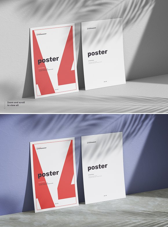 Poster / Flyer Mockups in Print Mockups - product preview 8