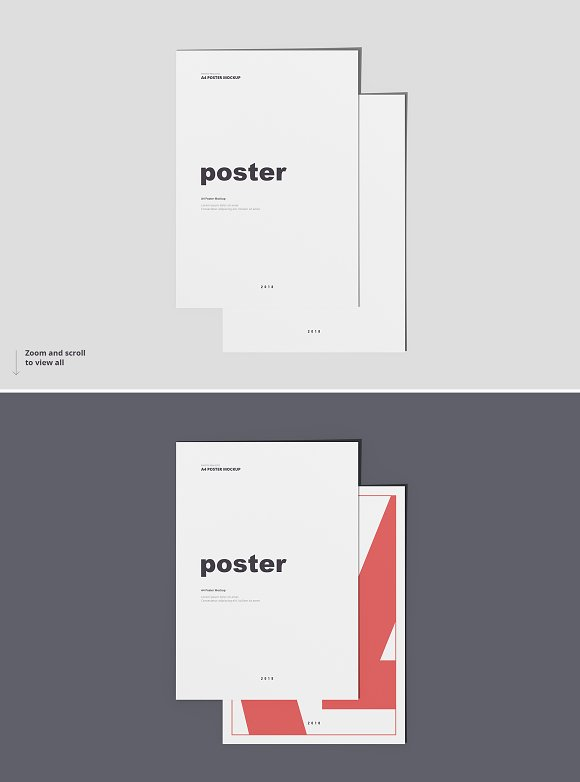 Poster / Flyer Mockups in Print Mockups - product preview 9
