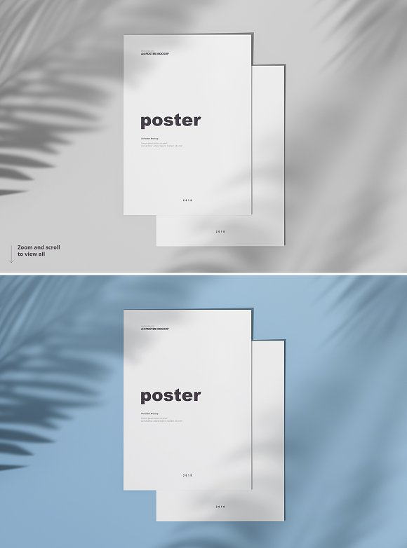 Poster / Flyer Mockups in Print Mockups - product preview 10