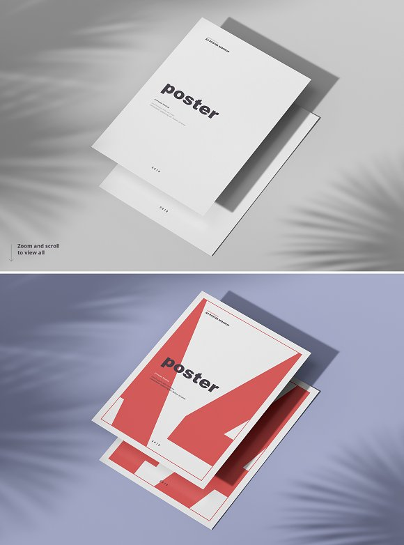 Poster / Flyer Mockups in Print Mockups - product preview 12