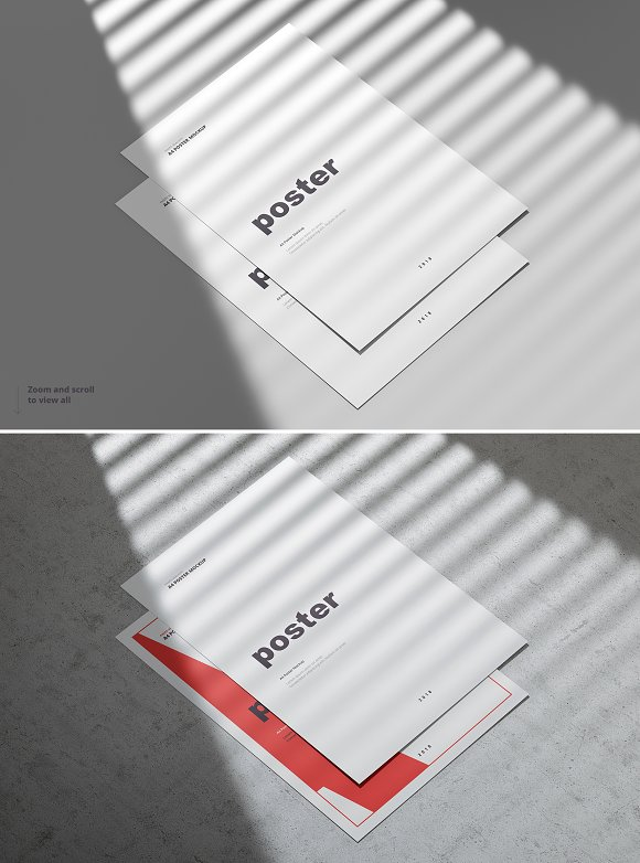 Poster / Flyer Mockups in Print Mockups - product preview 14