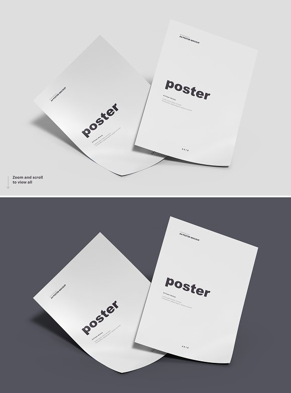 Poster / Flyer Mockups in Print Mockups - product preview 15
