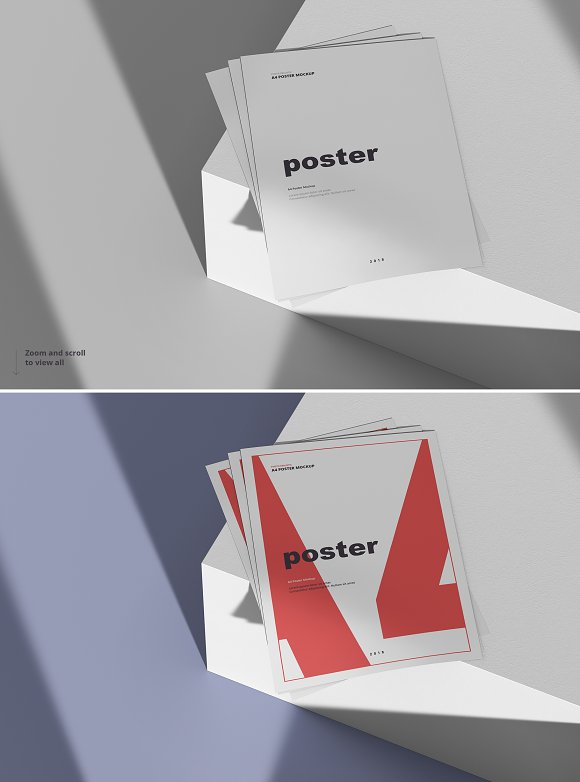 Poster / Flyer Mockups in Print Mockups - product preview 19
