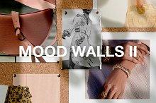Realistic Mood Wall Mockups II