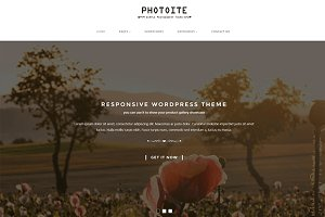 Photoite Photography WordPress Theme