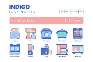 80 Home Appliance Icons | Indigo