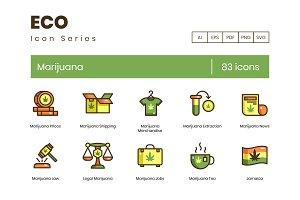 83 Marijuana & Weed Icons | Eco