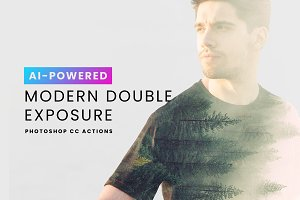 Modern Double Exposure Actions
