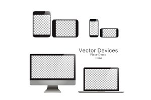 Set realistic vector devices. Respon