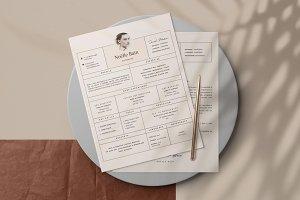 Stylish Resume Design • Noëlle