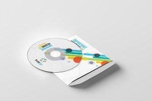 Bostrap_CD Sleeve & Sticker Design