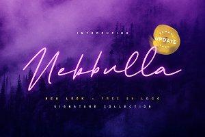 Nebbulla + 50 Minimalist Logo