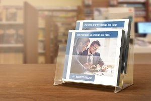 Square Bi-Fold Business Brochure