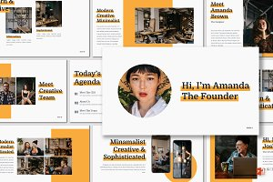 Nunito - Powerpoint Template
