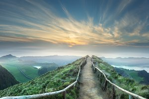 Mountain of Azores Portugal