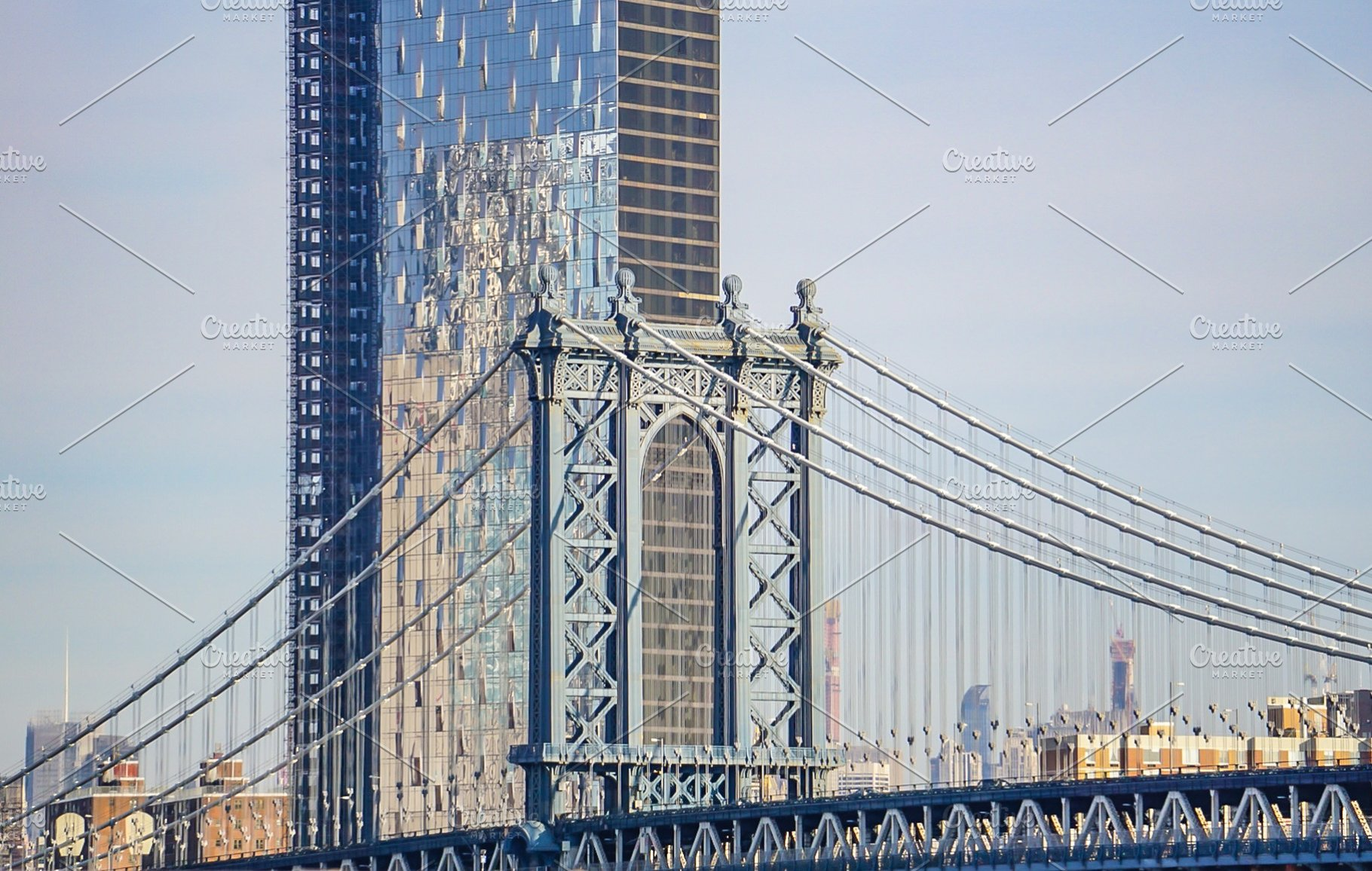 Manhattan Bridge In New York City Architecture Photos Creative
