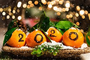 New Year 2020 is Coming Concep