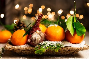 Fresh Clementines or Tangerines and