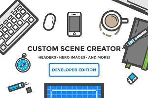 Hero & Header Creator - Developer