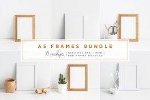 A5 Frame Mockups Bundle