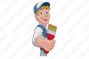 Painter Decorator Paintbrush