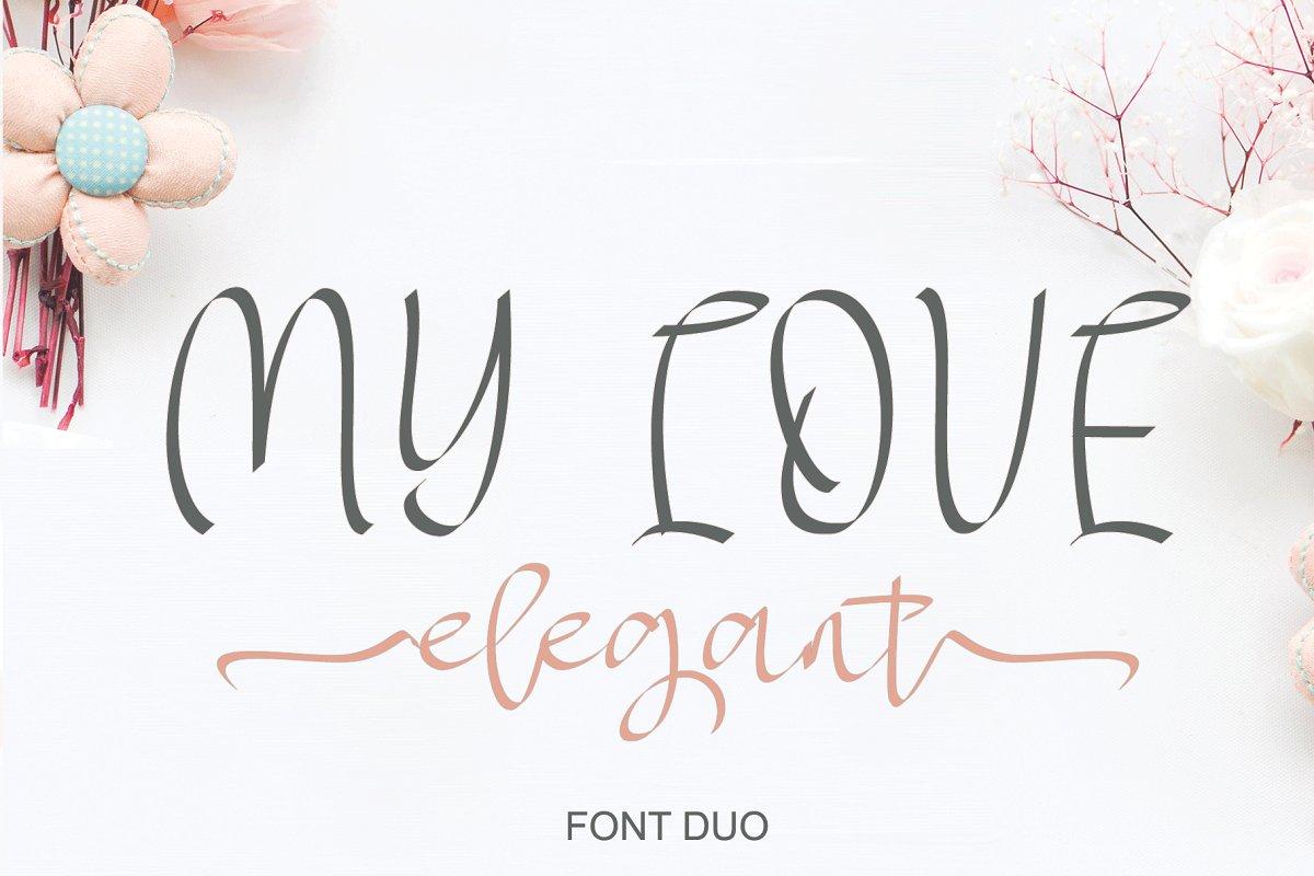 MY LOVE elegant