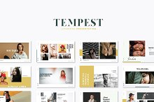 Tempest Lookbook by  in Presentations