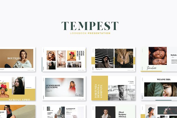 Templates: Fortunes Co - Tempest Lookbook