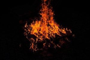 Burning pallet