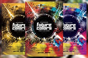 Future Colors Flyer