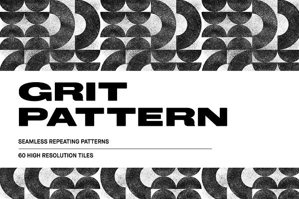 Graphic Patterns: Huebert World - Grit Pattern - 60 Seamless Tiles