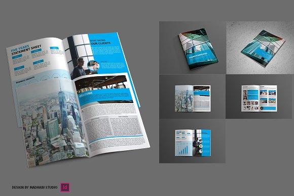 corporate brochure 8 pages brochure templates creative market