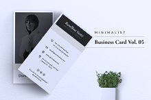 Minimalist Business Card Vol. 05 by  in Business Cards