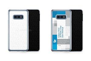 Galaxy S10E 2d PC Clear Case