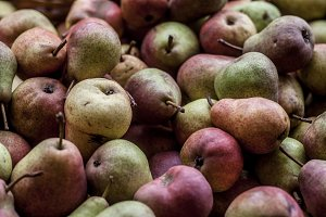 Pears Closeup