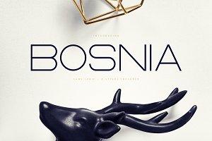 Bosnia - Sans Serif font | 2 styles