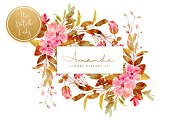 Floral & Botanical Clipart - Amanda