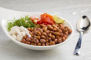Indian Spicy Street Food Peanuts