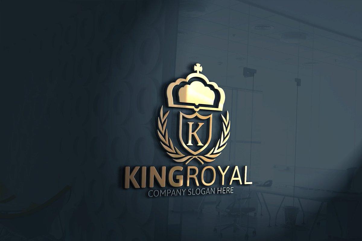 King Royal Logo | Creative Logo Templates ~ Creative Market