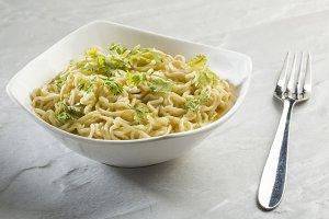 Spicy Noodles with coriander