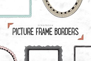 Scrapbooking Picture Borders - SALE