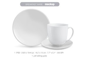 Breakfast ware MOCK UP
