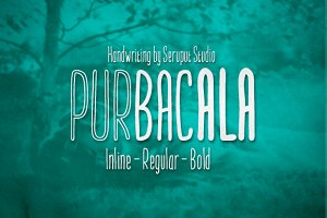 Purbacala Typeface