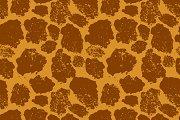 Bright realistic giraffe skin