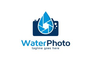 Underwater Photography Logo Template
