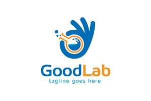 Good Lab Logo Template